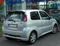 Suzuki Ignis Sport I rear 20100704