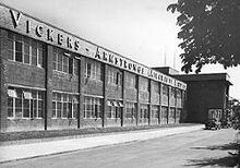 Vickers-AWD South Marston factory that made aircraft before