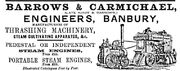 Barrows & carmichael advert - (Graces Guide) - Im1865POBuc-Barrows