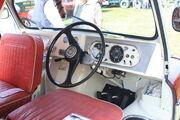 Bedford CA Dormobile Romany (cab) - 15 WKE at Riverside 2011 -IMG 8886
