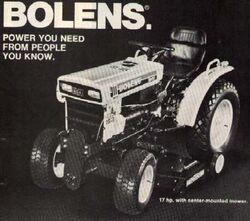 Bolens G172 (Iseki) b&w - 1979