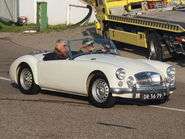 MG 1600 Mk II DE LUXE dutch licence registration DR-36-79-