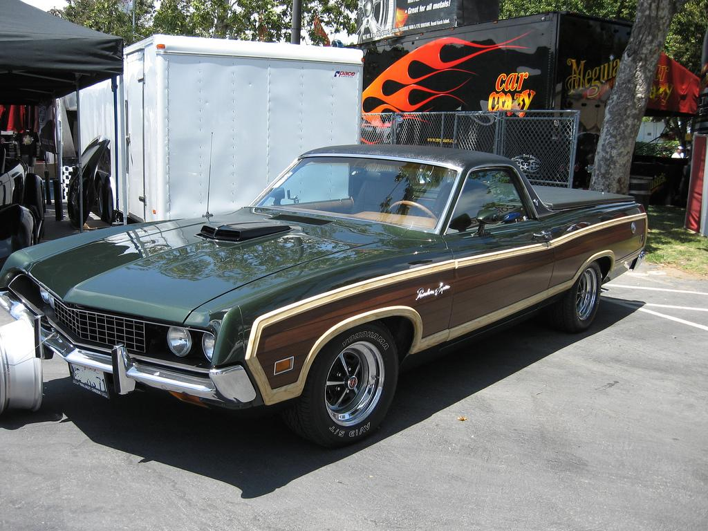 Ford Ranchero Tractor Construction Plant Wiki Fandom Powered 1969 Torino Gt 428 Co Jet Production 19701971