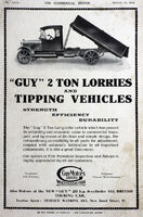 A 1920s GUY MOTORS Lorries Catalogue