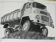 A 1970s AWD Leyland Beaver Dumptruck