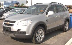 Chevrolet Captiva front