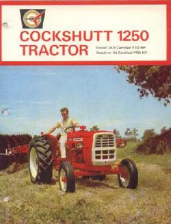 Cockshutt 1250 ad