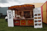 Fairground Heritage Trust stand at Fawley Hill 2013 - IMG 3459