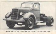 MACK EHT, 5-ton, 4x2 truck, tractor, conventional cab