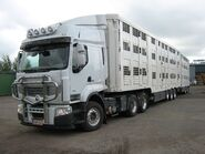Renault animal transport truck