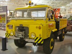 1963 Land Rover 112 Recovery Wagon Heritage Motor Centre, Gaydon