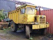 A 1960s Aveling Barford SL300 Mining Dumptruck