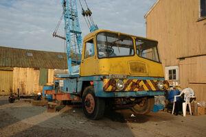 A 1970s Taylor Hydracrane Diesel