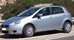 Fiat Punto Grande 4door silver vl