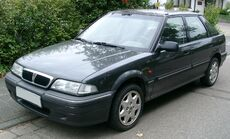 Rover 214 front 20070902.jpg