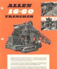 A 1960s Allen Of Oxford 1660 Trencher