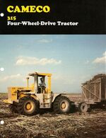 Cameco 315 4WD brochure