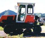 Kubota MK-80-SK crawler (Morooka)