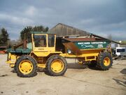 White Horse Contractors Ltd. Muir Hill 131 & 5th wheel coupling stone cart