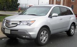 2nd Acura MDX.