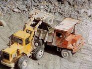 A 1960s Aveling Barford SL340 Quarry Dumptruck Diesel