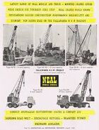 A 1970s Neal Mobile Crane Model Range