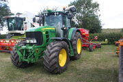 John Deere 7530 at Astwood Bank 09 - IMG 3394