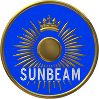 Sunbeam car company badge
