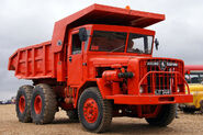 A 1970s Aveling Barford AB690 Dumptruck preserved