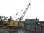 A 1980s Smith Of Rodley 40 Crawlercrane Diesel