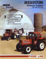 Hesston 1180 DT MFWD brochure