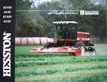Hesston 8550S swather brochure