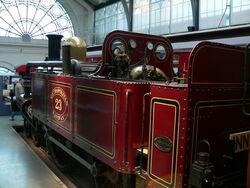 Metropolitan Railway steam locomotive number 23