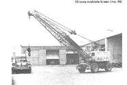 Neal N80 Crane diesel