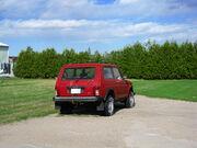 Red Lada Niva Cossack 1.7i in Schomberg, Ontario, Canada