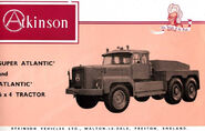 A 1960s Rotinoff Atkinson Super Atlantic Diesel Haultractor