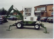 A 1990s Smalley 450 Excavator 5T Diesel