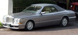 Bentley Azure first, top-up