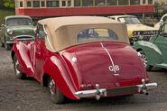 Lagonda 2-6litre DHC rear