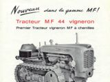 Massey Ferguson 44 vineyard crawler
