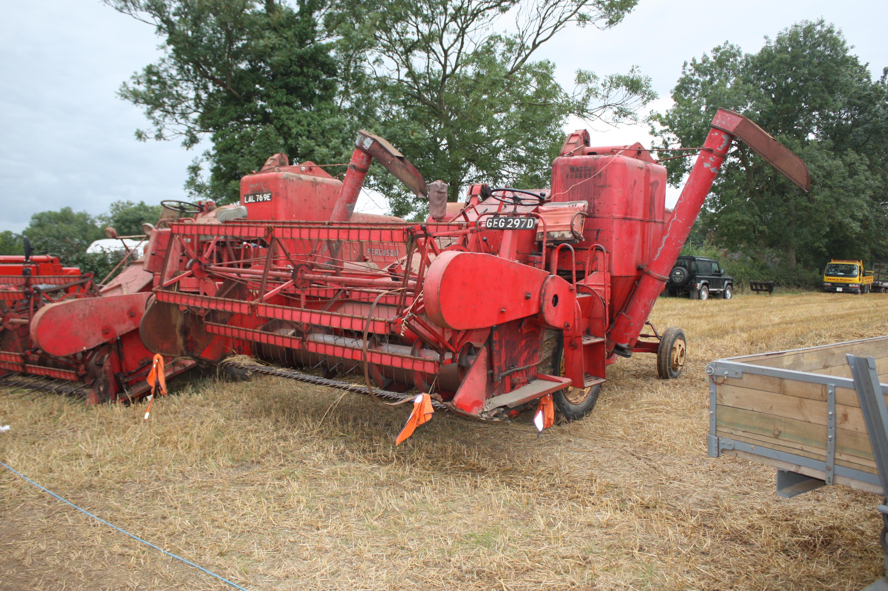 List of combine harvester manufacturers
