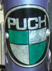 Puch head badge