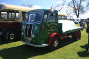 Seddon Diesel flatbed reg XAC 299 (MK7 ?) at Boroughbridge CV 09 - IMG 8918