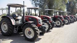 ArmaTrac 854e tractors in Iraq 2011