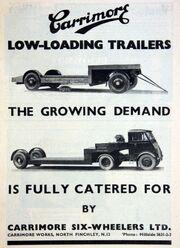 Carrimore advert - graces guide - Im19380701CM-Carri