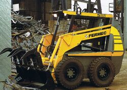 Fermec 528 skid-steer