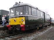 Railbus 79964 at York Railfest