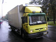 Renault truck in Jyväskylä