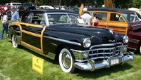 1950 Chrysler Newport Coupe woodie