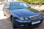 2002MY Rover 75 1.8 Saloon front view